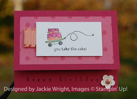 You take the cake gift cardholder