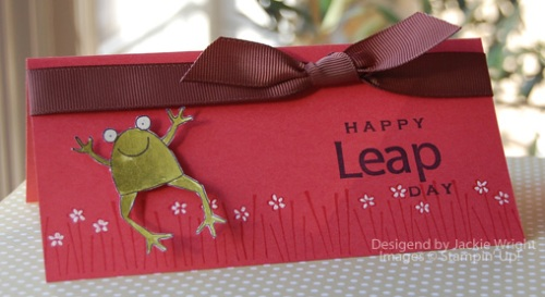 Happy Leap Day card