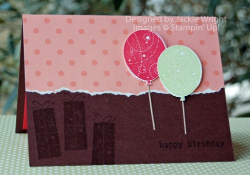 Happy Birthday pop-up card Groovy Guava