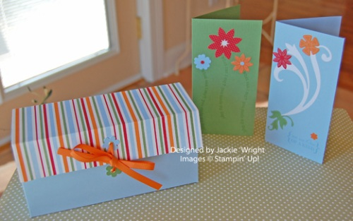 Summer Days Simply Scrappin' card kit Box