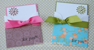 Mini envelope note cards