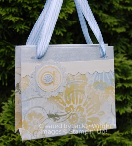 Mini Tote bag Le Jardin
