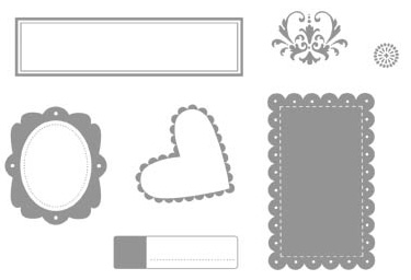 Framed with Love stamp set