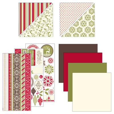 Christmas Jingle Simply Scrappin Kit