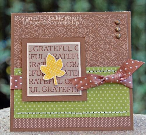Grateful leaf