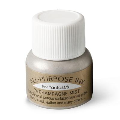 Champagne Mist shimmer ink