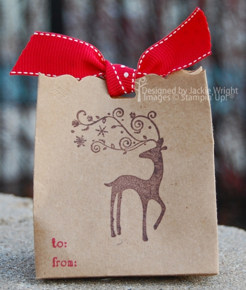 Dasher Fancy Favor Bag back