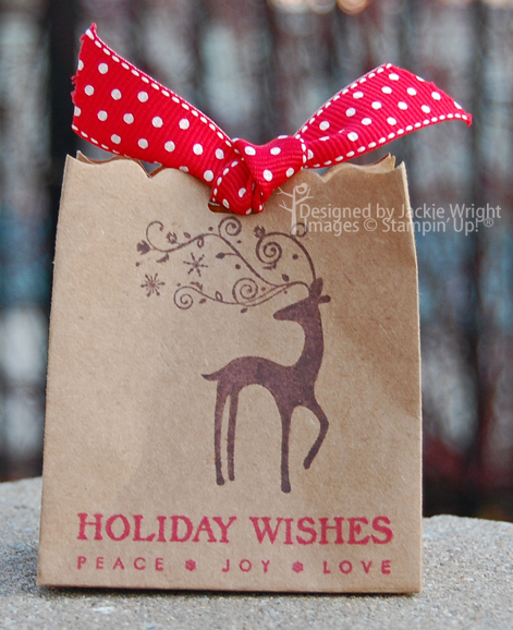 Dasher Fancy Favor Bag