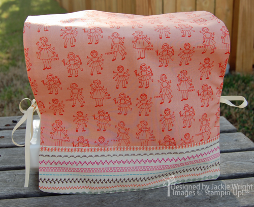 sewing machine cover - www.jackiestamps4fun.wordpress.com