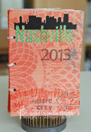 Nashville mini album front - www.jackiestamps4fun.wordpress.com